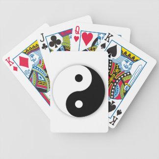 Yin Yang Playing Cards