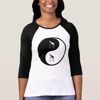 Yin Yang Pole Vaulting T-shirts