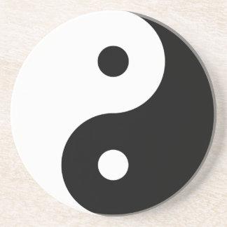 Yin Yang Posavasos De Arenisca