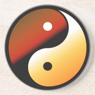 Yin Yang Posavaso Para Bebida
