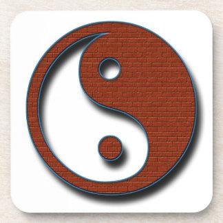 Yin Yang Posavasos De Bebidas