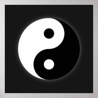 Yin Yang Poster Print