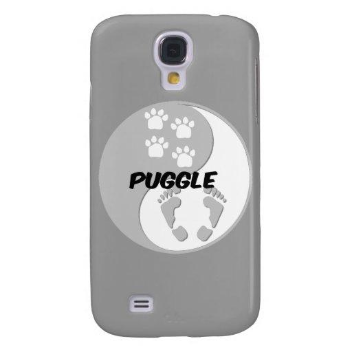 yin yang puggle galaxy s4 case