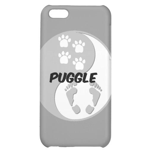 yin yang puggle iPhone 5C case