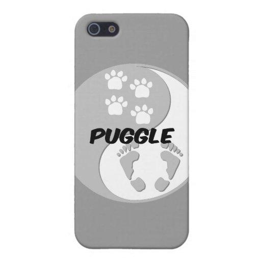yin yang puggle case for iPhone 5