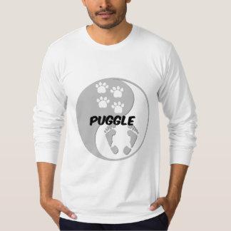 yin yang puggle T-Shirt