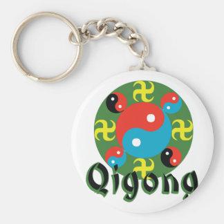 Yin Yang Qigong Keychain