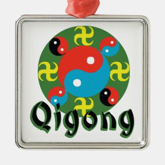 Yin Yang Qigong Metal Ornament