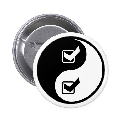 Yin Yang Quality Assurance Engineering Pins