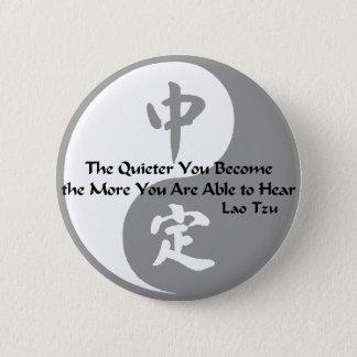 Yin Yang - Quiet Pinback Button