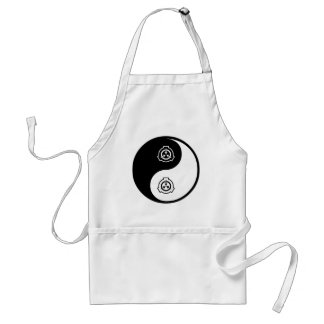 Yin Yang Radiation Therapy Adult Apron