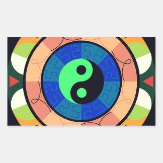 Yin Yang ! Rectangular Sticker