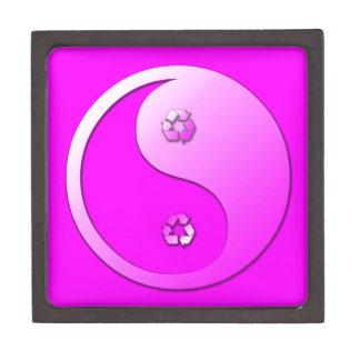 Yin Yang - Recycle Jewelry Box