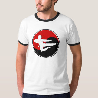 Yin Yang Red Karate GUY 1 T-Shirt
