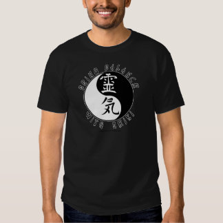 Yin Yang Reiki Kanji Shirt