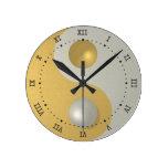 Yin Yang Relojes De Pared