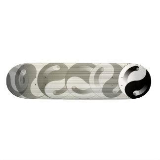 Yin Yang Roller Skateboard Deck