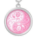 Yin Yang Roses, pink Jewelry