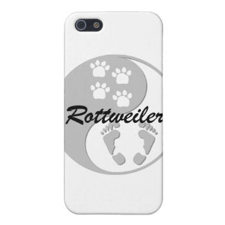 yin yang rottweiler cover for iPhone SE/5/5s