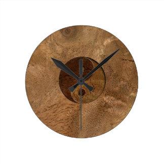 Yin Yang Round Clock