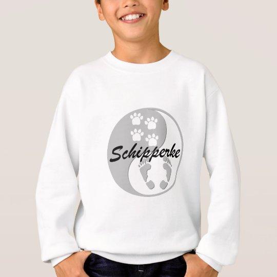 yin yang schipperke sweatshirt