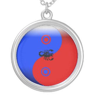 Yin-Yang Scorpio Necklace