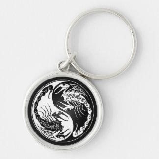 Yin Yang Scorpions Key Chains