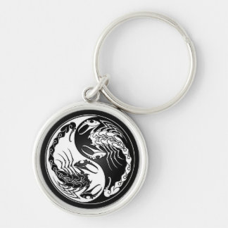 Yin Yang Scorpions Key Chains