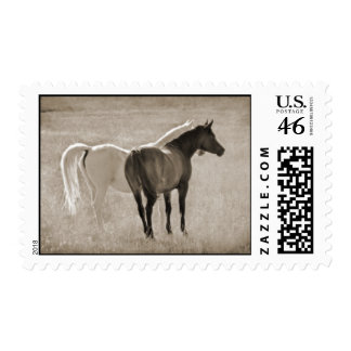 Yin Yang (Sephia) Stamp