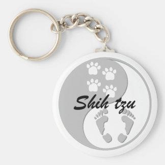 Yin yang Shih Tzu Llaveros Personalizados