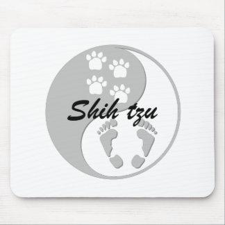 Yin yang Shih Tzu Alfombrillas De Ratón
