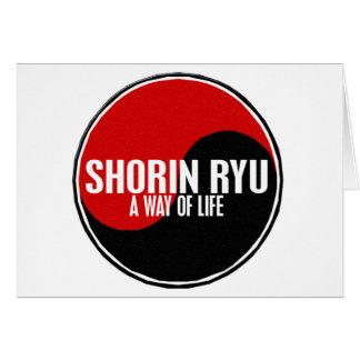 Yin Yang Shorin Ryu 1 Greeting Card