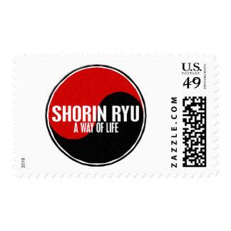 Yin Yang SHORIN RYU 1 Postage Stamp
