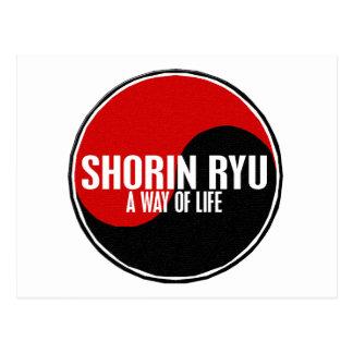 Yin Yang Shorin Ryu 1 Postcard