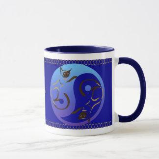 Yin Yang Siamese Cats Mug