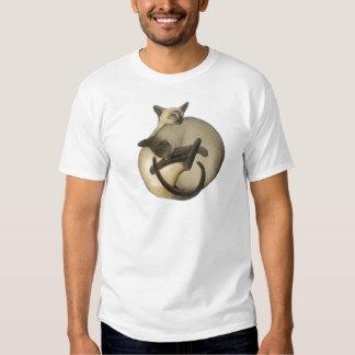 Yin Yang Siamese Cats Shirts