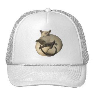 Yin Yang Siamese Cats Trucker Hat