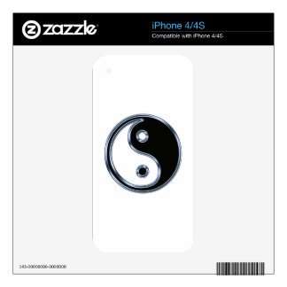 Yin Yang Sign Decal For iPhone 4S