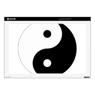 """Yin Yang Decals For 17"""" Laptops"""