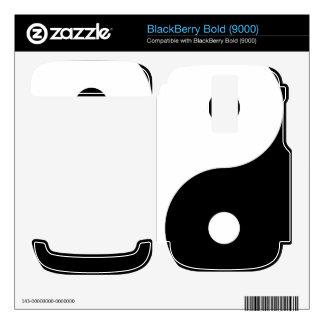 Yin Yang Skins For BlackBerry