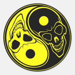 Yin Yang Tattoo Stickers | Zazzle