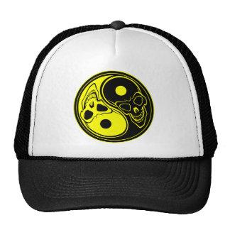 Yin-Yang Skull Tattoo Hat