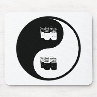Yin Yang Soil Science Mouse Pad