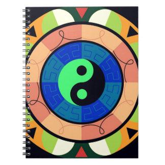 Yin Yang ! Spiral Notebook
