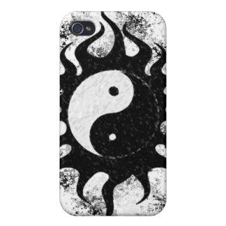 Yin Yang Splatter iPhone 4 Cover