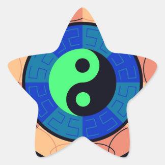 Yin Yang ! Star Sticker