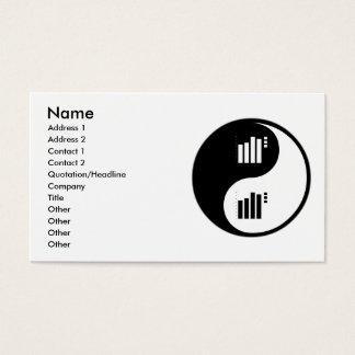 Yin Yang Statistics Business Card