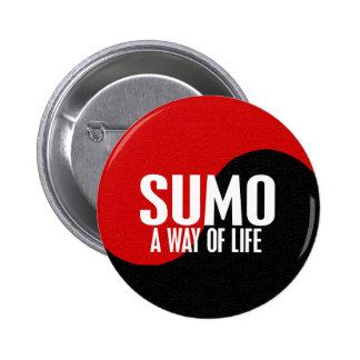 Yin Yang Sumo 1 Pinback Button