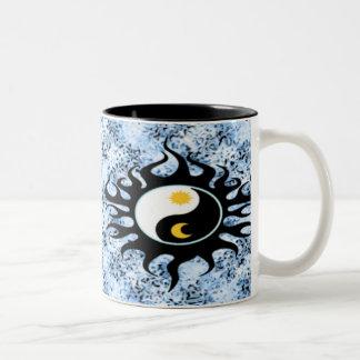 Yin Yang Sun & Moon Mugs