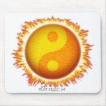 Yin/Yang Sun Mousepad Tapete De Ratón